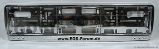 Chrome-Look Kennzeichenhalter: EOS-Forum