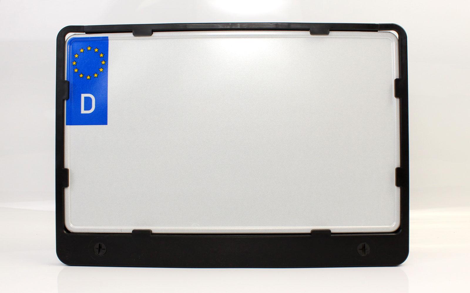 340x200 Kennzeichenhalter für die Befestigung von Kfz-Kennzeichen